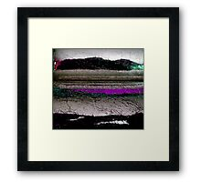 moving mountains Framed Print