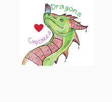 Dragons love Cupcakes! With words Unisex T-Shirt