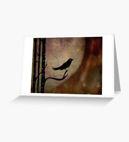 Singing bird ... Greeting Card
