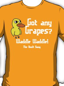 Duck Song Funny Geek Nerd T-Shirt
