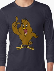 Henery hawk yelling Funny Geek Nerd Long Sleeve T-Shirt