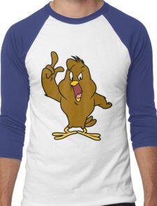 Henery hawk yelling Funny Geek Nerd Men's Baseball ¾ T-Shirt