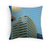 Line,Color And Form Throw Pillow
