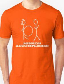 Mission Accomplished Funny Geek Nerd T-Shirt