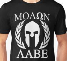 Molon Labe Grunge Spartan Funny Geek Nerd Unisex T-Shirt
