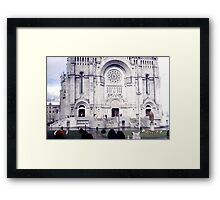 Basilica of St. Anne de Beaupre Framed Print