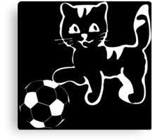 Portlandia please win! meow, meow meow Funny Geek Nerd Canvas Print