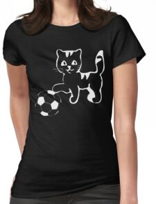 Portlandia please win! meow, meow meow Funny Geek Nerd Womens Fitted T-Shirt