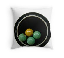 Concept of circle Throw Pillow