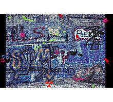Graffiti Fun Photographic Print