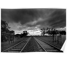 Tracks and Sleepers Poster