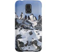 Gentoo penguins (Pygoscelis papua). Antarctica Samsung Galaxy Case/Skin