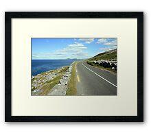Scenic Clare road Framed Print