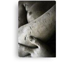 Hand, forearm, breast Canvas Print