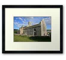 Summers eve at Corcomroe Framed Print