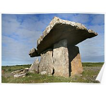 Summers morning at Poulnabrone Poster