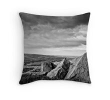 pyramids colne valley Throw Pillow