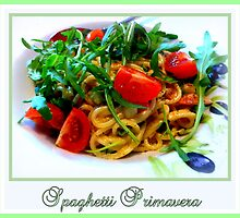 Spaghetti Primavera by ©The Creative  Minds