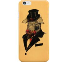 Mr. P I G iPhone Case/Skin