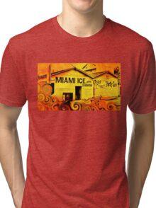 Miami Ice Tri-blend T-Shirt