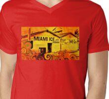 Miami Ice Mens V-Neck T-Shirt