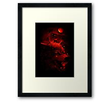 Red Dream Framed Print