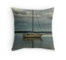 'Lone Sailor' Throw Pillow