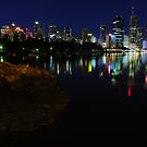 Brisbane City from Kangaroo Point by David James