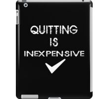 Quitting Funny Geek Nerd iPad Case/Skin