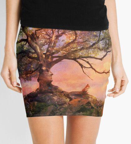 Sunset at Fox Mountain Mini Skirt