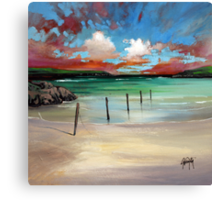 Barra Posts Canvas Print