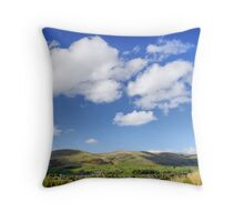 Sedbergh and the Howgill Fells Throw Pillow