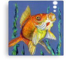 Fishy Tails Canvas Print