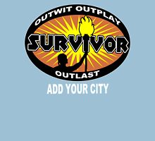 Survivor add your city Funny Geek Nerd Unisex T-Shirt