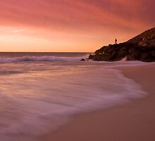 Photographer at Sunset by widgee76