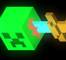 Minecraft Creeper Sticker