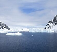 Neko Harbor is an inlet on the Antarctic Peninsula on Andvord Bay by PhotoStock-Isra