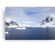 Neko Harbor is an inlet on the Antarctic Peninsula on Andvord Bay Canvas Print