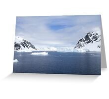Neko Harbor is an inlet on the Antarctic Peninsula on Andvord Bay Greeting Card