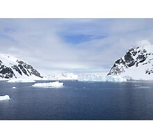 Neko Harbor is an inlet on the Antarctic Peninsula on Andvord Bay Photographic Print