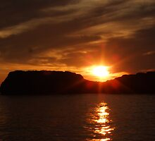 3. Sunset over Gozo, Malta by DeborahDinah