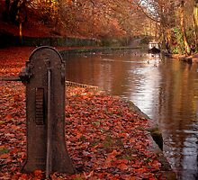 Autumn Canal by Jude Gidney