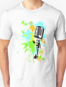Old Skool Microphone T-Shirt