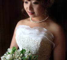 Pretty Japanese bride Erika Kikuchi by idphotography