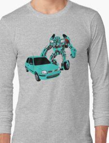 Nissan Micra Transformer Long Sleeve T-Shirt