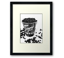 Tommy Coffee  Framed Print