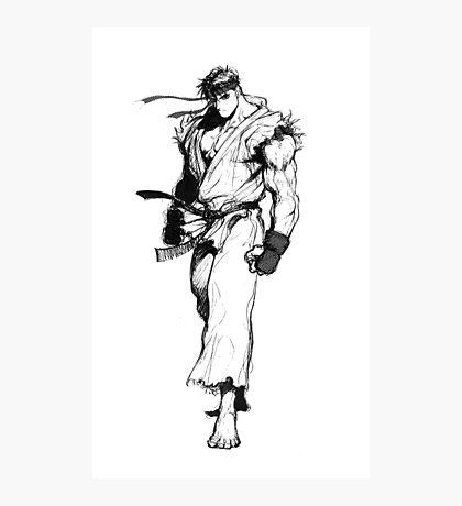 Ryu Portrait Photographic Print