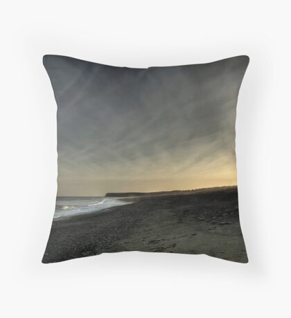 Fading Light on Morrison's Beach Throw Pillow