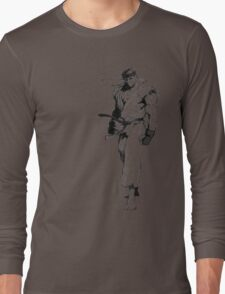 Ryu Portrait Long Sleeve T-Shirt