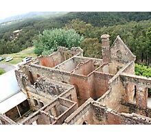 Mountain Ruins Photographic Print